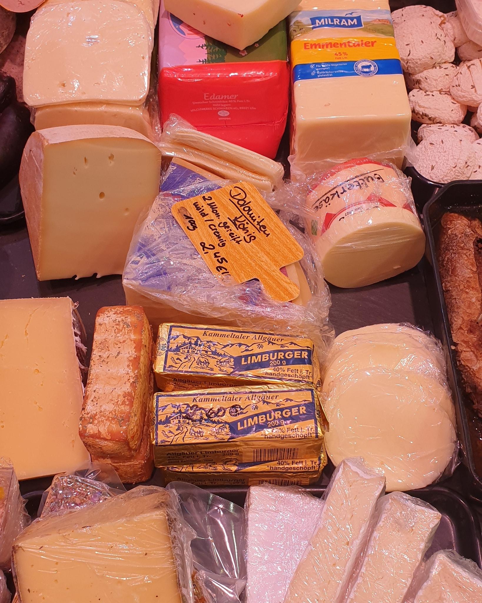 Wir haben unser Sortiment, vorallem das Käse Sortiment, erweitert. Neu bei uns Leber…